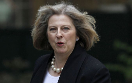 It is not only from the Left that Theresa May is being attacked Photo: Reuters